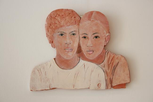 Elena si Marcel Scutaru Forme empatice @ Galeria Galateea, Bucuresti (1)