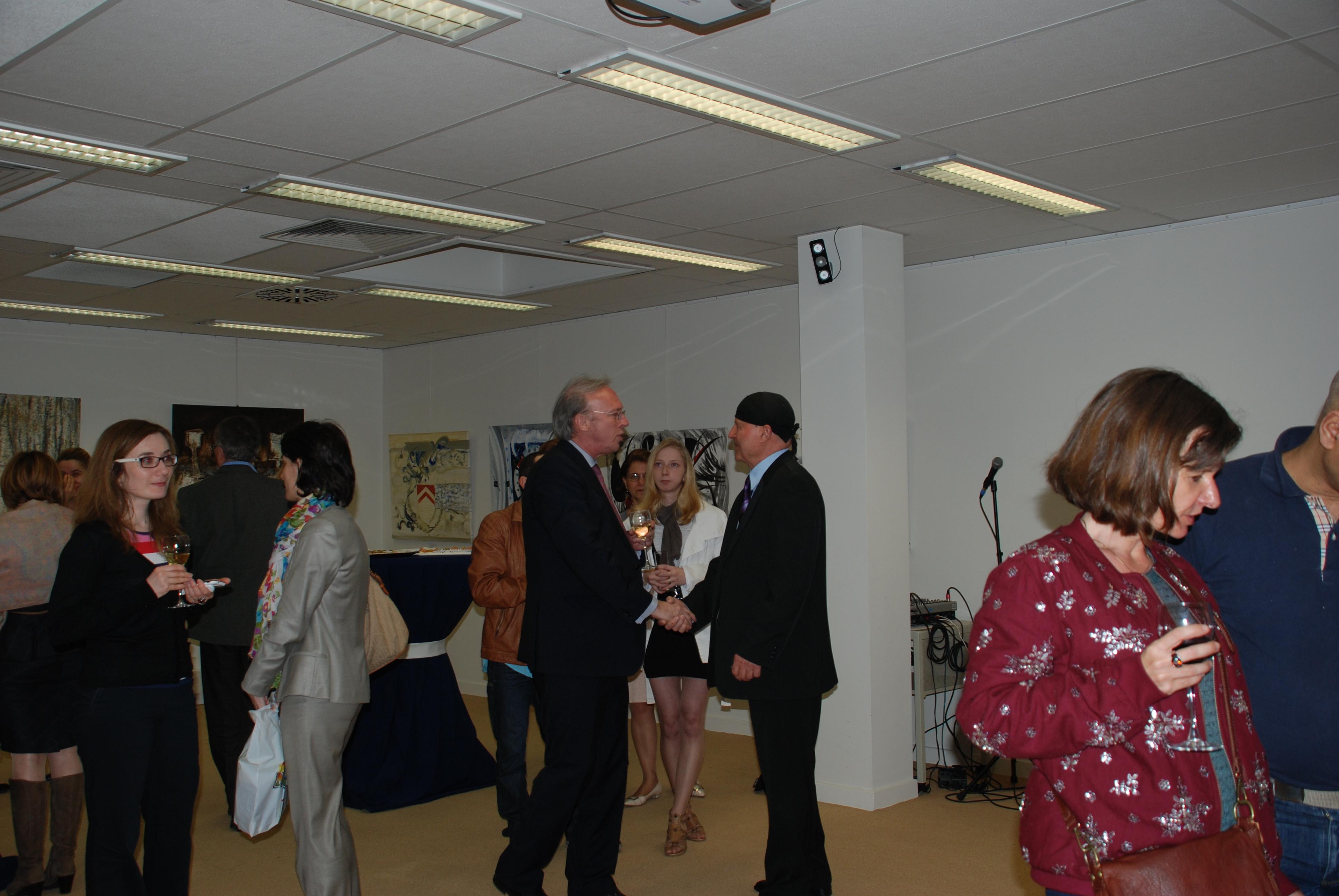 DSC_2347 - 10 mars 2014 - Oeuvres de Cosmin Fruntes, Lisandru Neamtu et Vasili Diviza