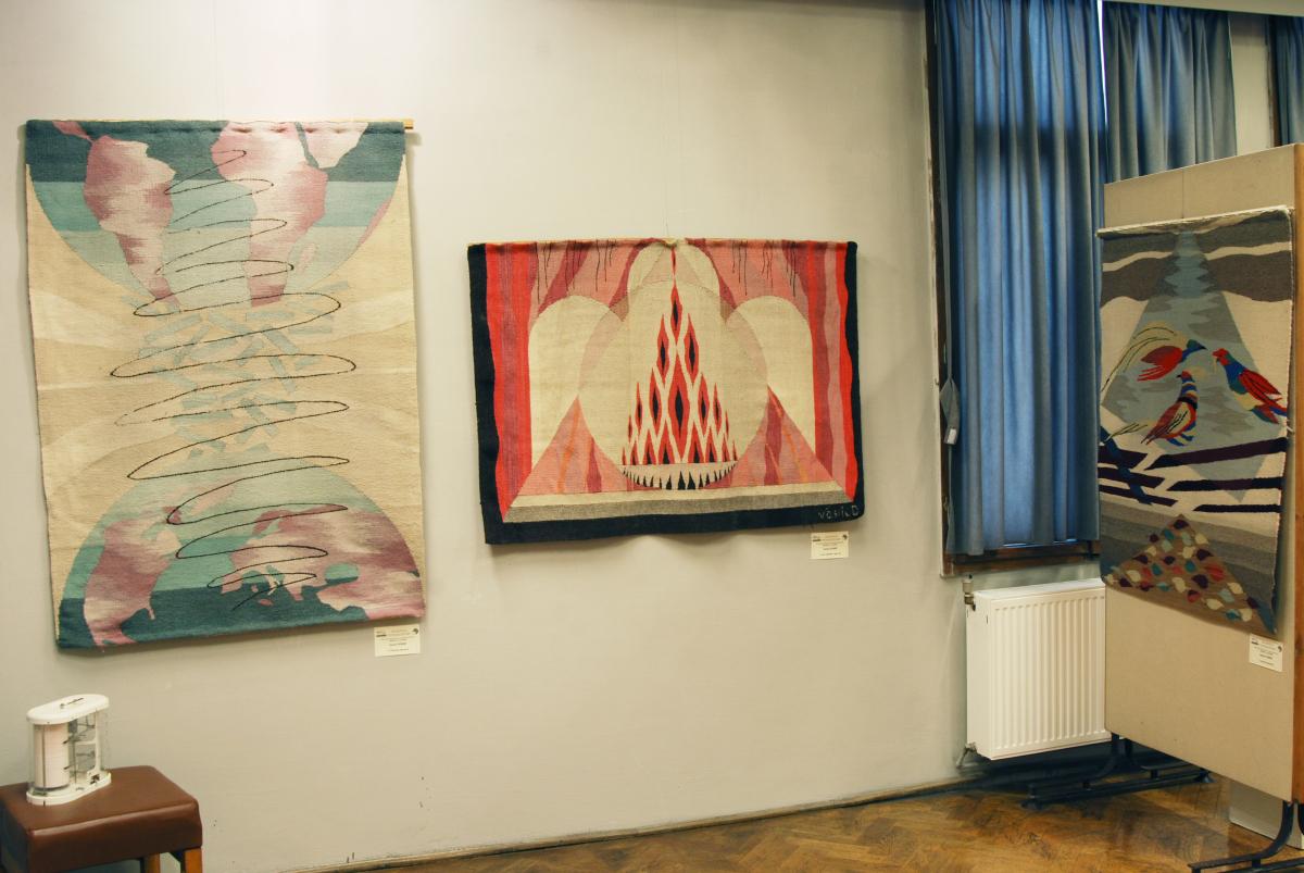 Expozitia de tapiserie BARBAŢI LA RAZBOI (4)