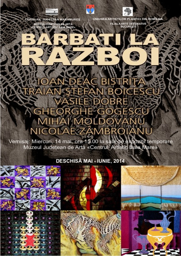Expozitia de tapiserie BARBAŢI LA RAZBOI (7)