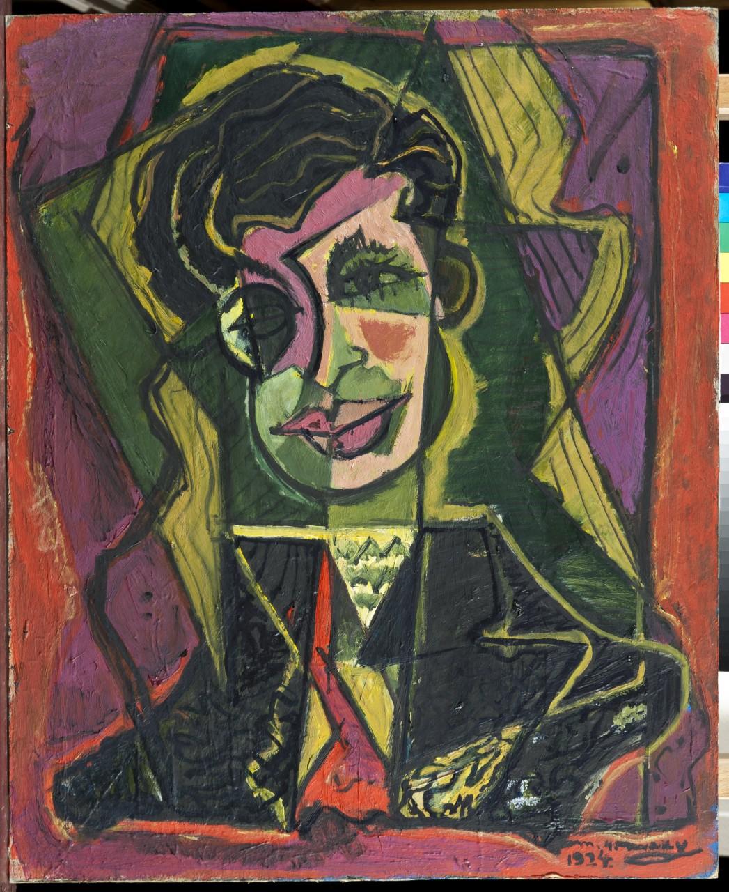 Max Herman Maxy - Tristan Tzara, 1924