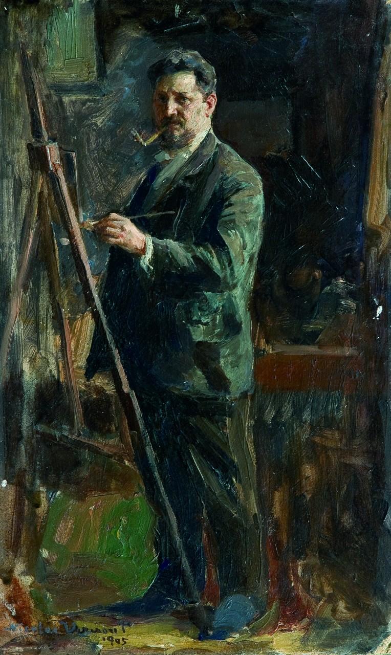 Nicolae Vermont - Autoportret, 1905