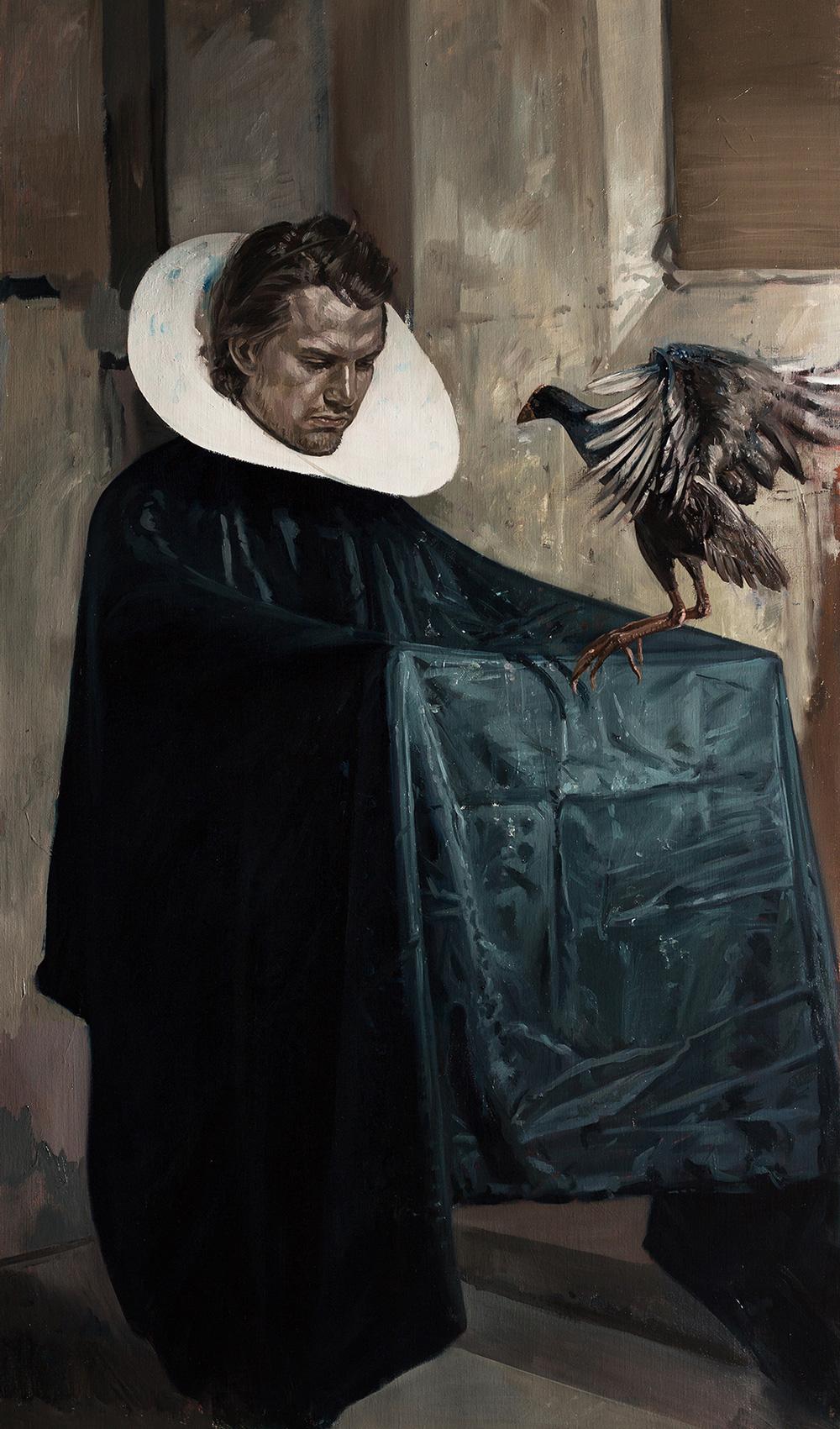 The magic 2, 2014, oil on linen, 128 x 75 cm