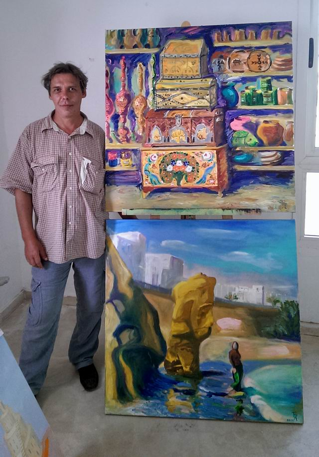Resize of painting by Yaroslav Bondarenko, Ukraine