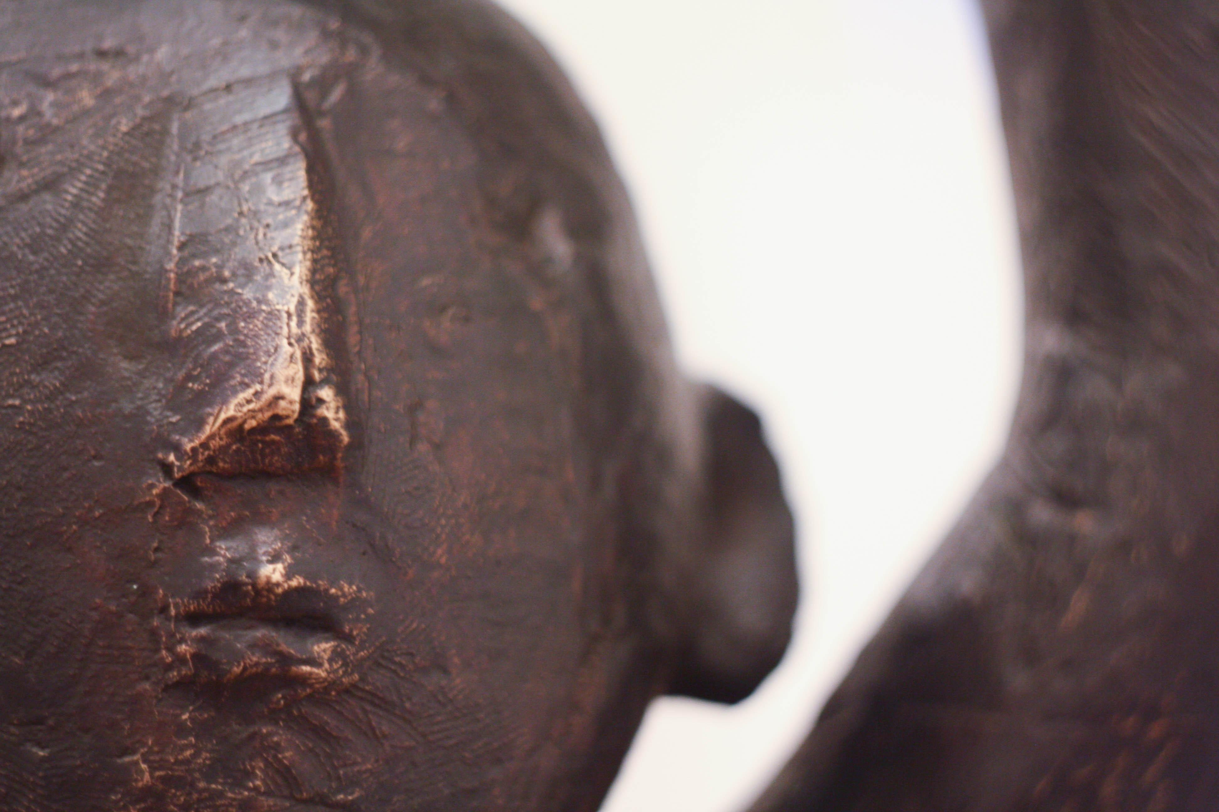 Virgil Scripcariu, Supermam, 2014, bronz, 101 x 56 x 72 cm [detaliu 1]