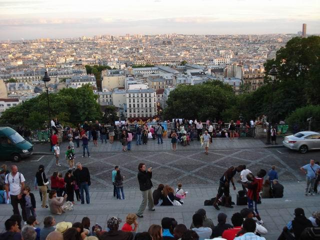 Resize of 11 Orizontul acoperisurilor Parisului de pe treptele catedralei Sacre Coeur