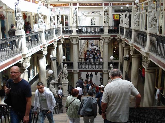 Resize of 23 Pasajul Pommeraye din Nantes, un mall-muzeu