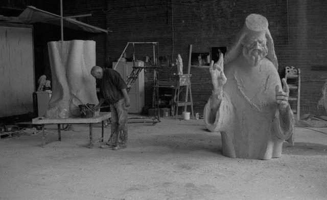 mihai istudor - atelier combinatul fondului plastic - foto Jonas Mercier 13