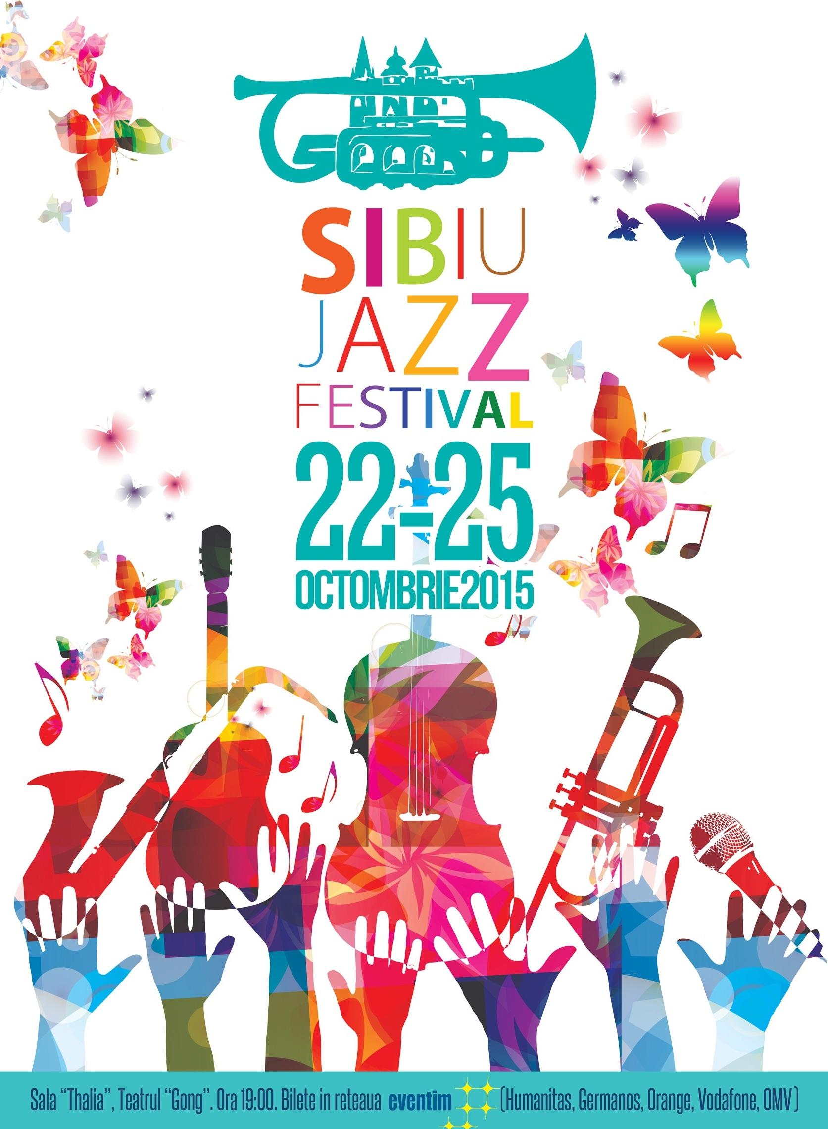 Afis Sibiu Jazz Festival 2015
