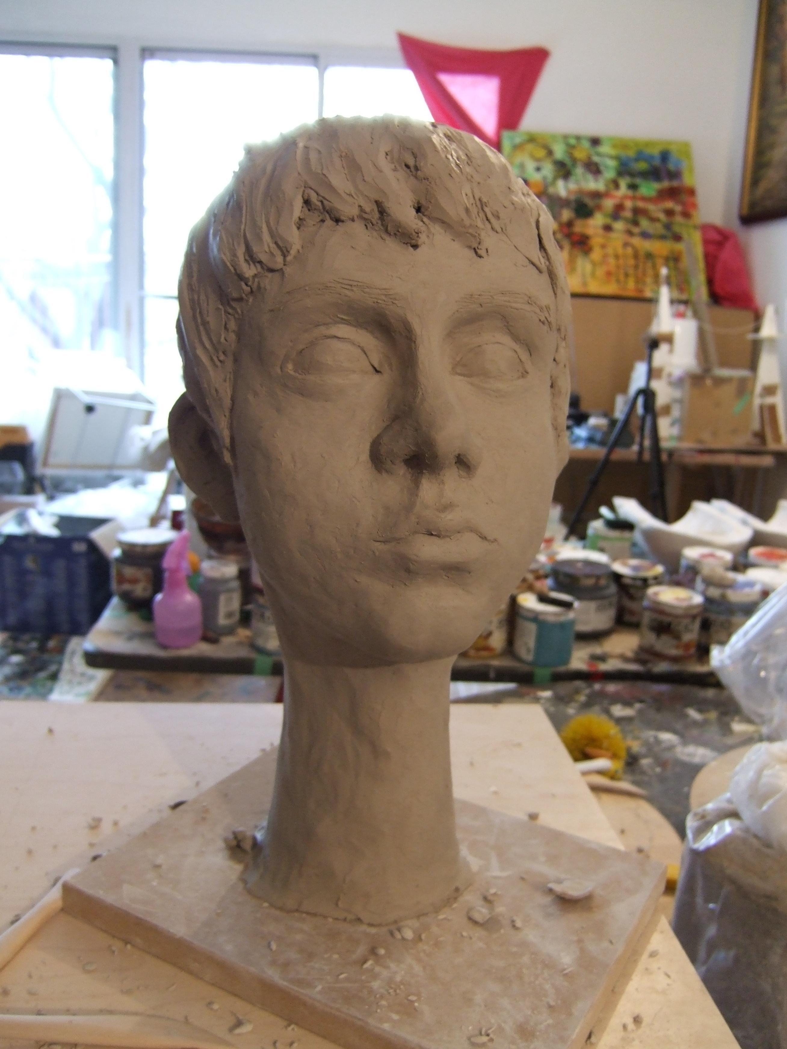 sculptura teodora pica - atelier toronto  _0032