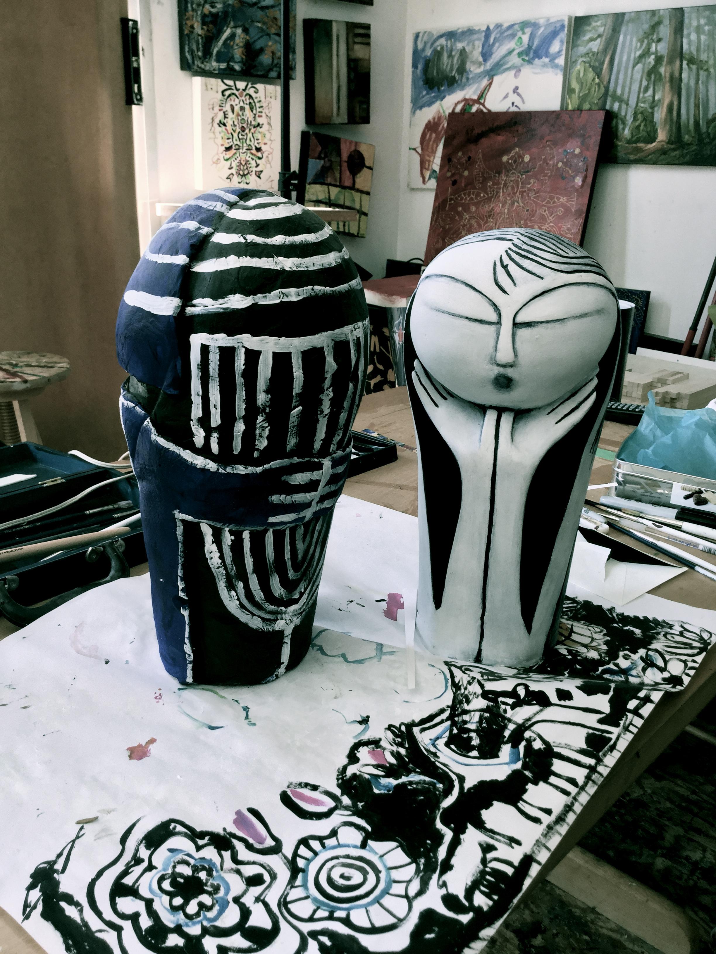 sculptura teodora pica - atelier toronto  _0034