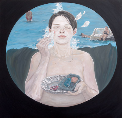 ioana-ursa-floating-sins-behind-your-back-2009-oil-on-canvas-100x100-cm