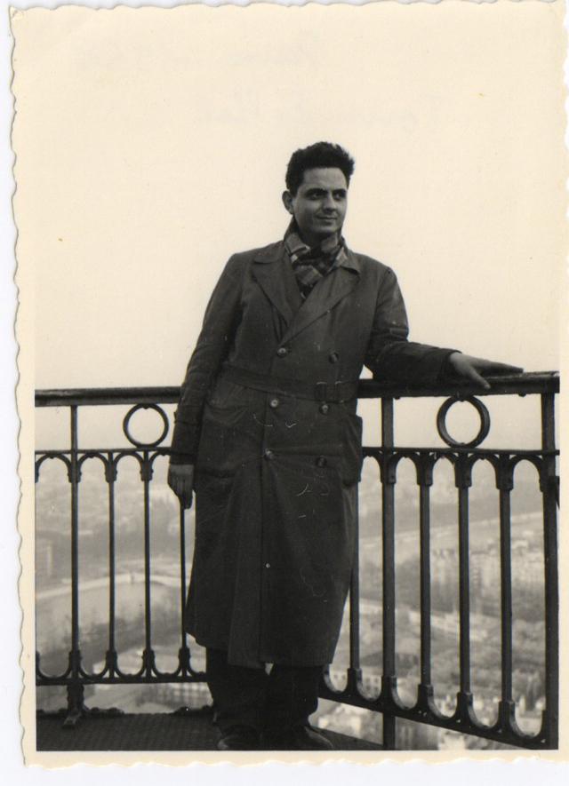 Radu Bogdan, Tour Eiffel, 1958
