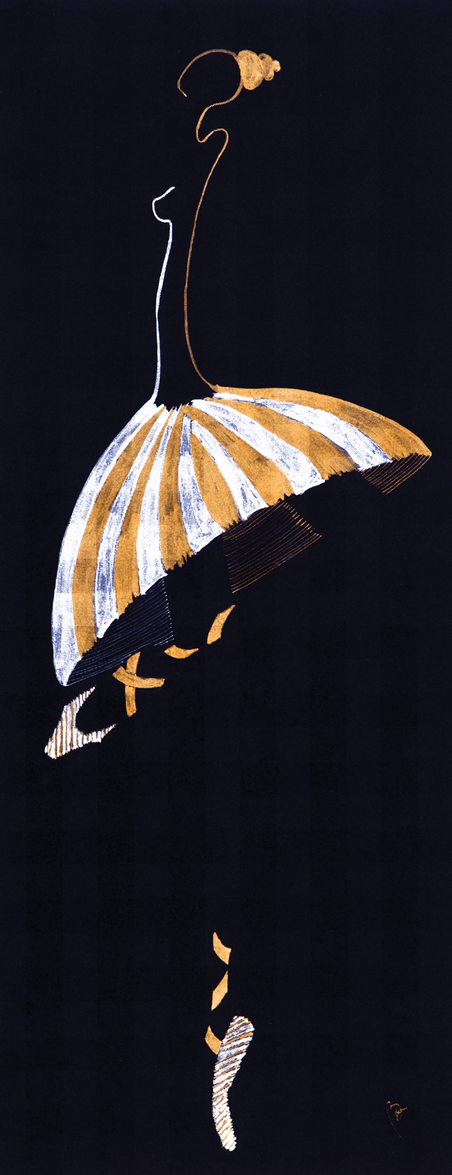Golden-Ballerina
