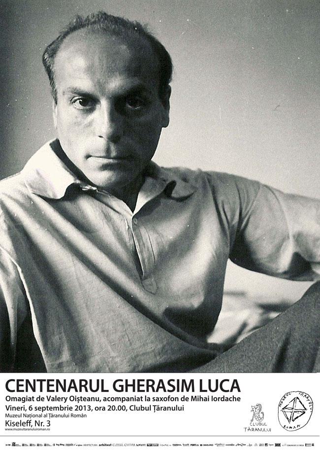 Centenar Gherasim Luca