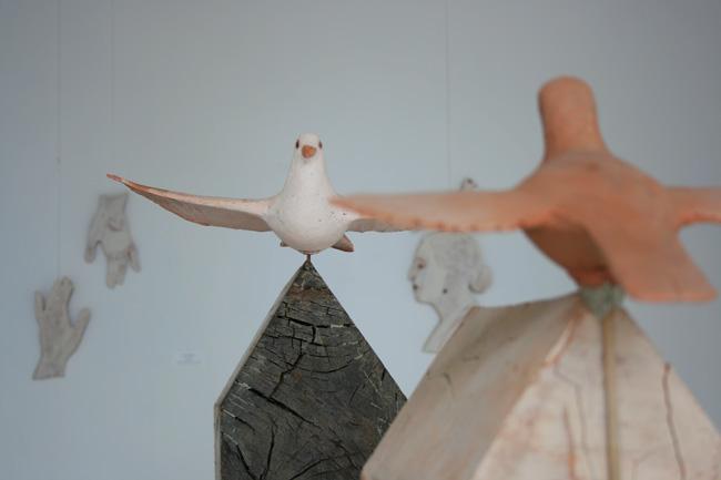 Elena si Marcel Scutaru Forme empatice @ Galeria Galateea, Bucuresti (6)