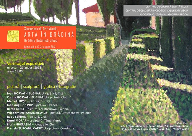 Simpozionul de Arte Vizuale ARTA IN GRADINA