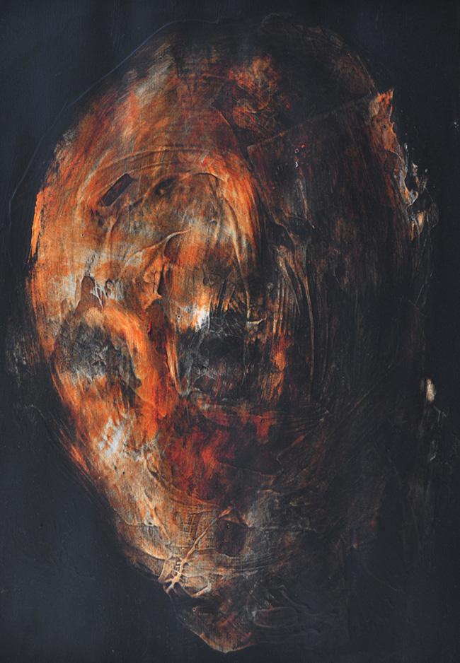 Botond Reszegh Nightfall (Heads) @ Gallery IX, Budapest (1)