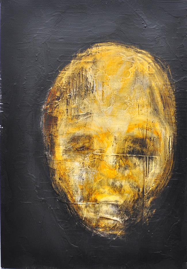 Botond Reszegh Nightfall (Heads) @ Gallery IX, Budapest (2)