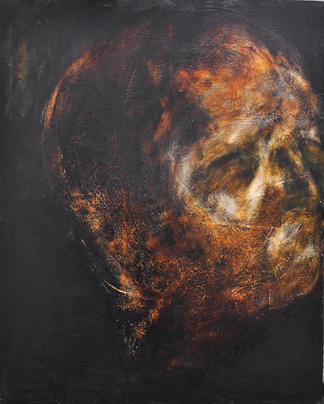 Botond Reszegh Nightfall (Heads) @ Gallery IX, Budapest (3)