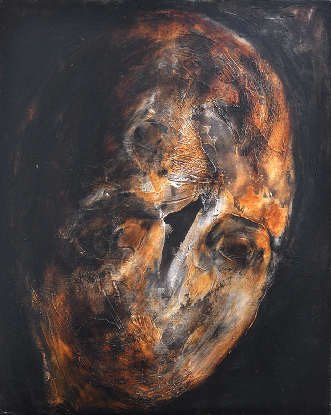 Botond Reszegh Nightfall (Heads) @ Gallery IX, Budapest (4)