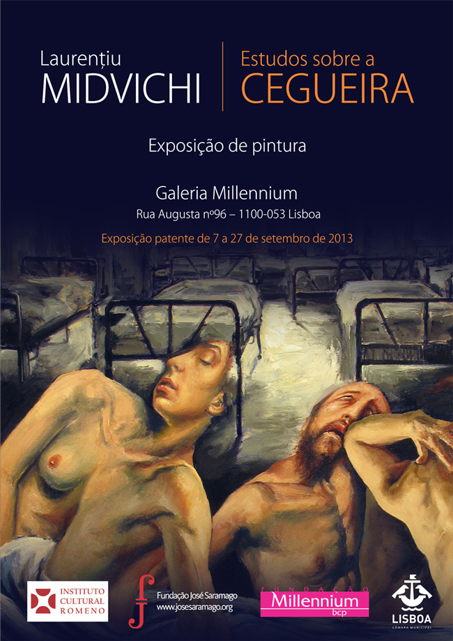 Laurentiu Midvichi Studii despre orbire @ Galeria Millennium, Lisabona
