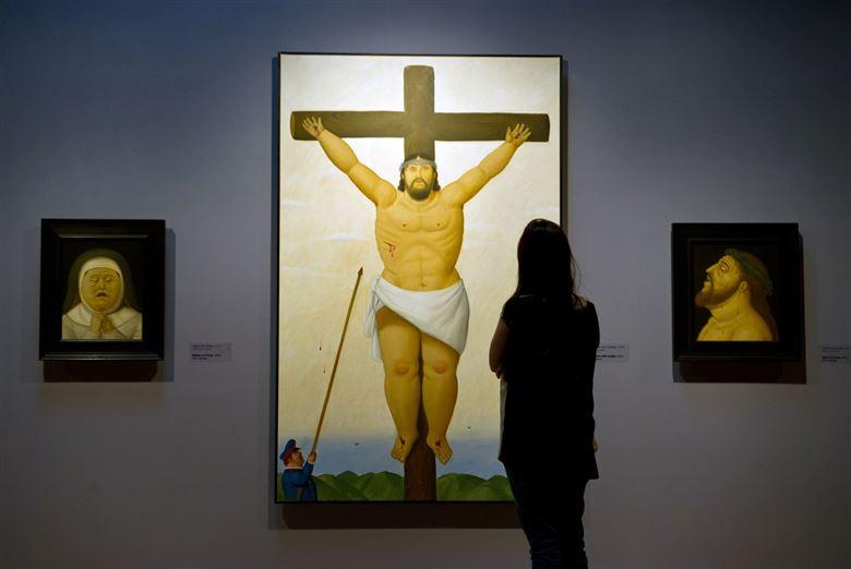 Fernando Botero, Via Crucis, the passion of Christ in Cali, department of Valle del Cauca, Colombia (1)