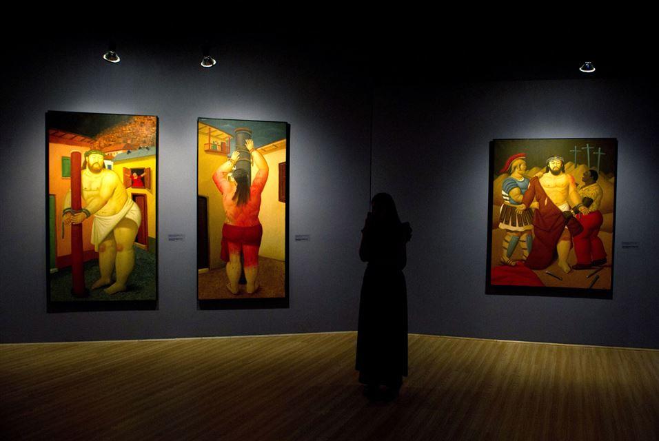 Fernando Botero, Via Crucis, the passion of Christ in Cali, department of Valle del Cauca, Colombia (10)