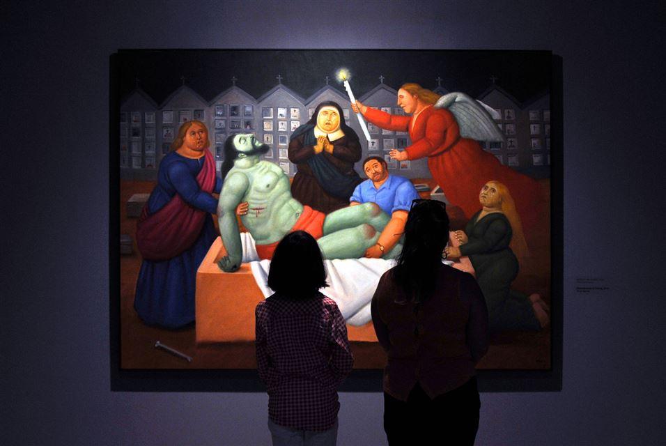 Fernando Botero, Via Crucis, the passion of Christ in Cali, department of Valle del Cauca, Colombia (3)