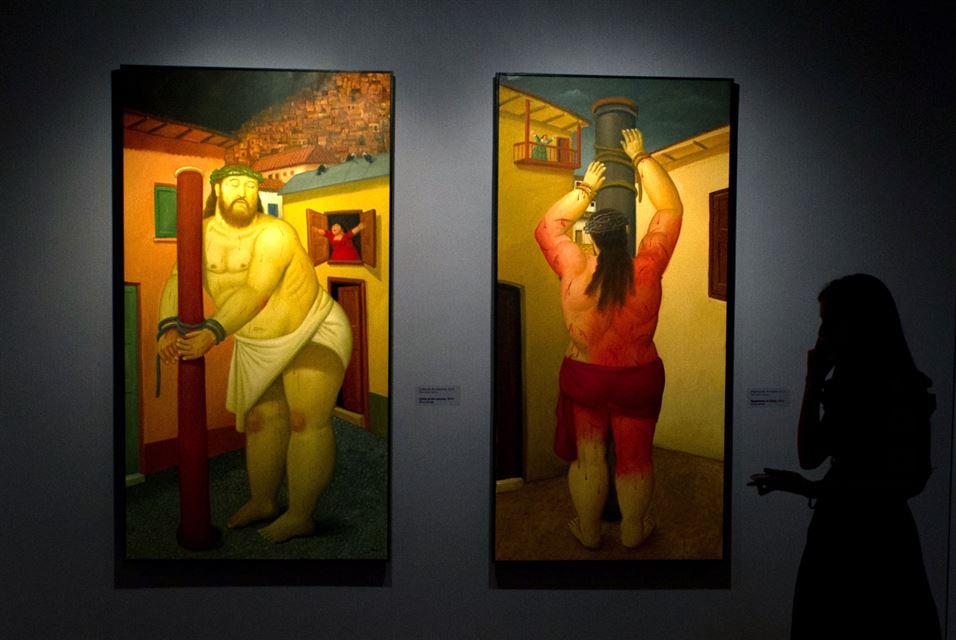 Fernando Botero, Via Crucis, the passion of Christ in Cali, department of Valle del Cauca, Colombia (4)