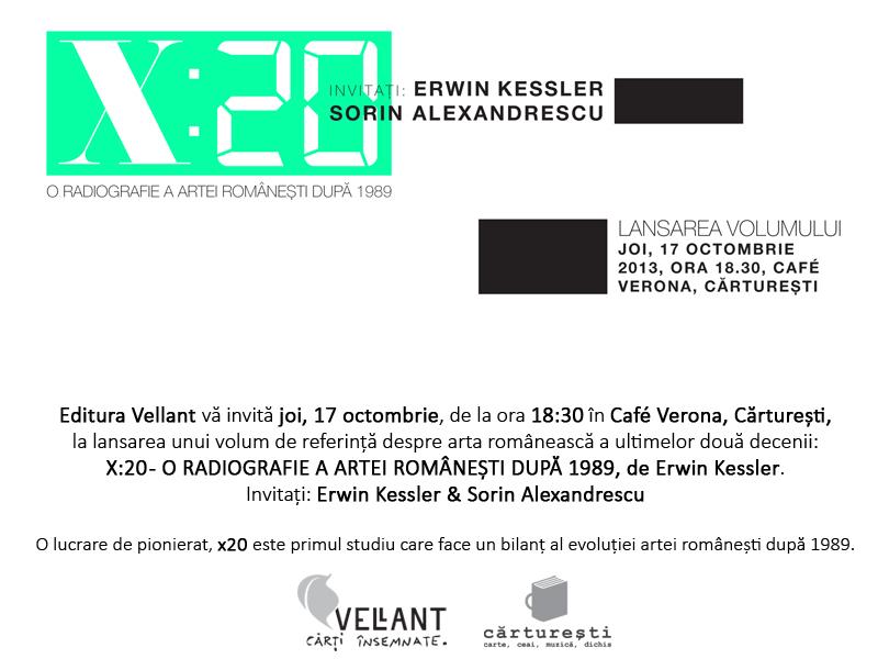 Invitatie lansare X20