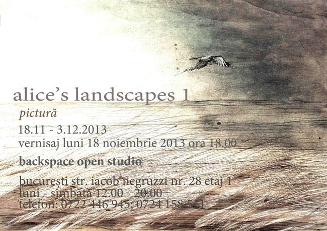Alice Teca, Alice s Landscapes @ Backspace Open Studio, Bucuresti (6)