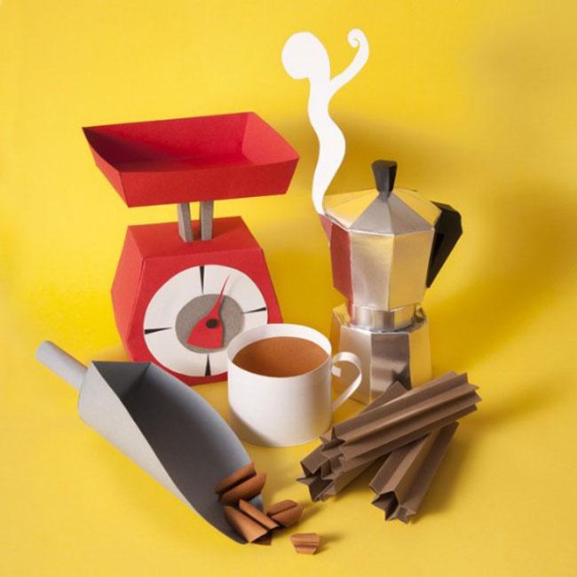Delightful Papercraft Food & Grocery Sculptures (4)