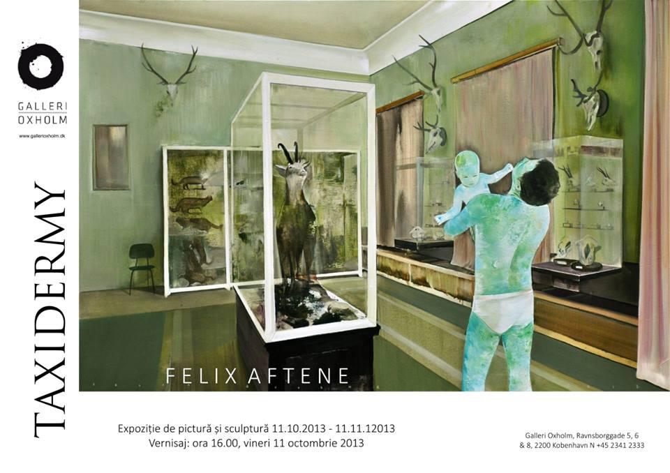 Felix Aftene, Taxidermia @ Galeria Oxholm, Copenhaga (12)
