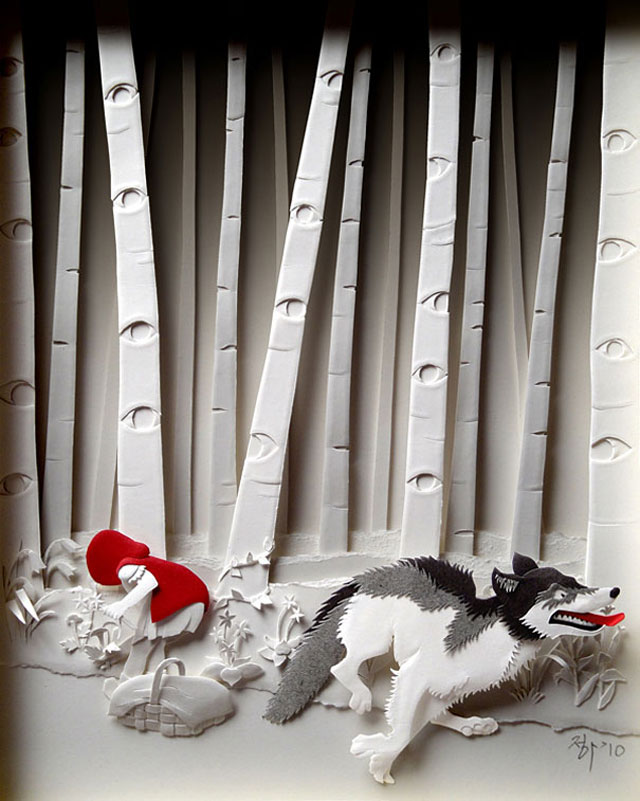 Paper Art by Cheong-ah Hwang (1)