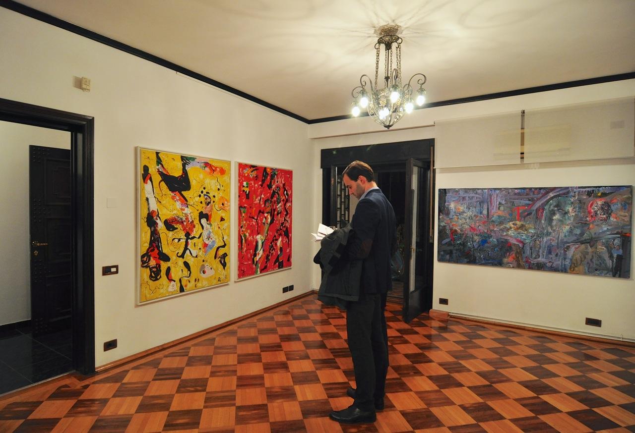 Romul Nutiu si Cristian Sida Multiverse @ 418 Contemporary Art Gallery, Bucuresti (5)