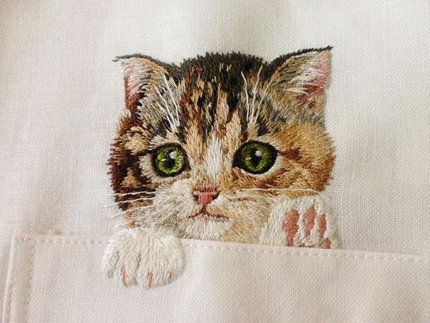 cats-embroidered-on-shirts-hiroko-kubota-1