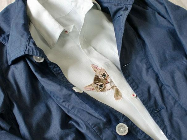 cats-embroidered-on-shirts-hiroko-kubota-11