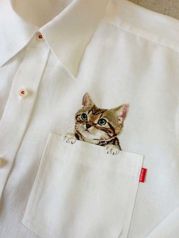 cats-embroidered-on-shirts-hiroko-kubota-4