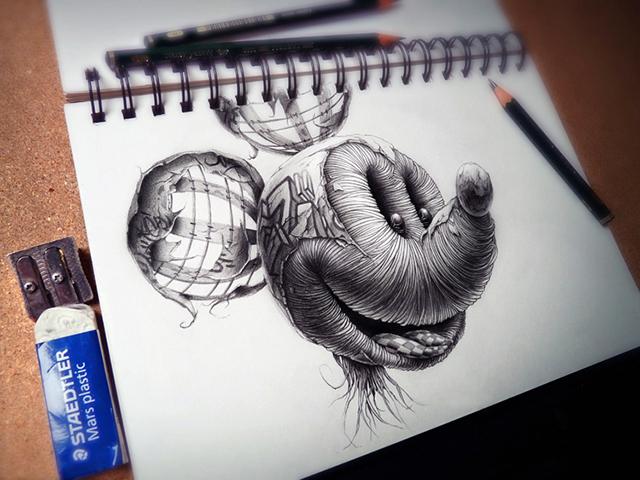 creepy graphite drawings (3)