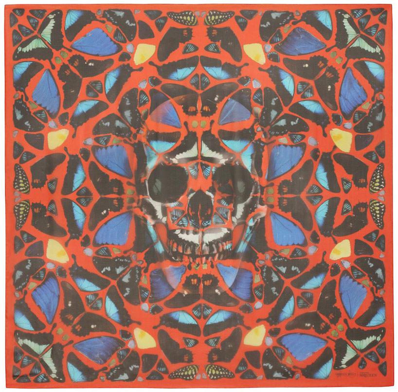 damien-hirst-alexander-mcqueen-unveil-skull-scarf-series-designboom-06