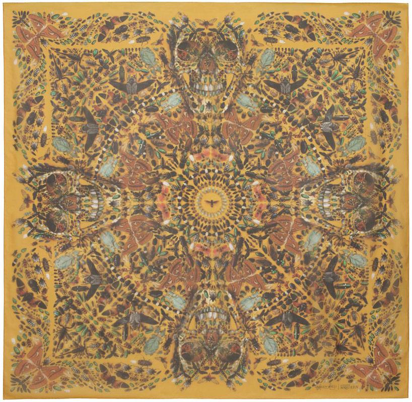damien-hirst-alexander-mcqueen-unveil-skull-scarf-series-designboom-15