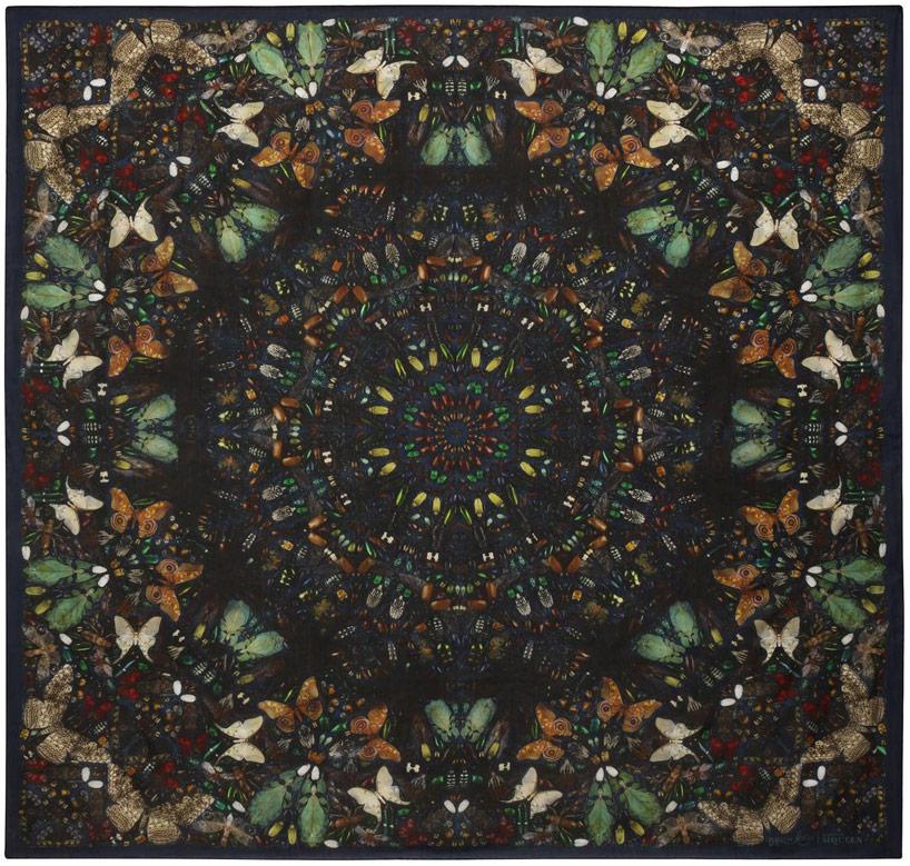 damien-hirst-alexander-mcqueen-unveil-skull-scarf-series-designboom-28