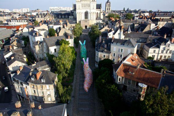 Giant Slug Sculptures (4)