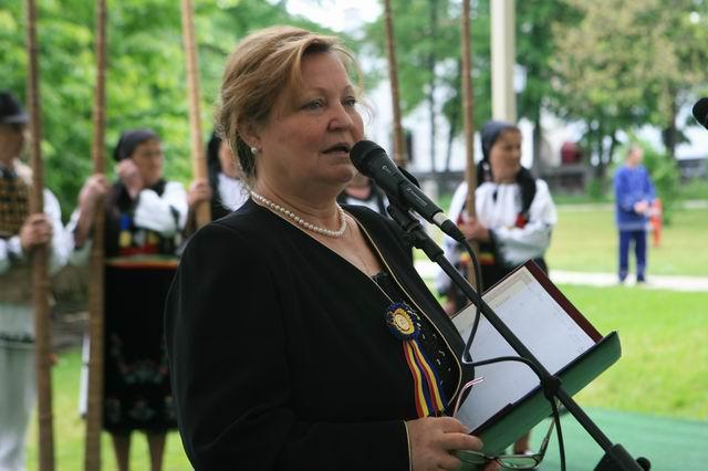 paulina popoiu director muzeul satului - foto lucian muntean