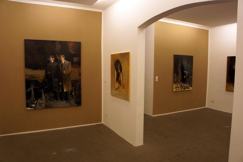 Radu Belcin, Frozen Silence @ Galerie Martin Mertens Berlin (1)