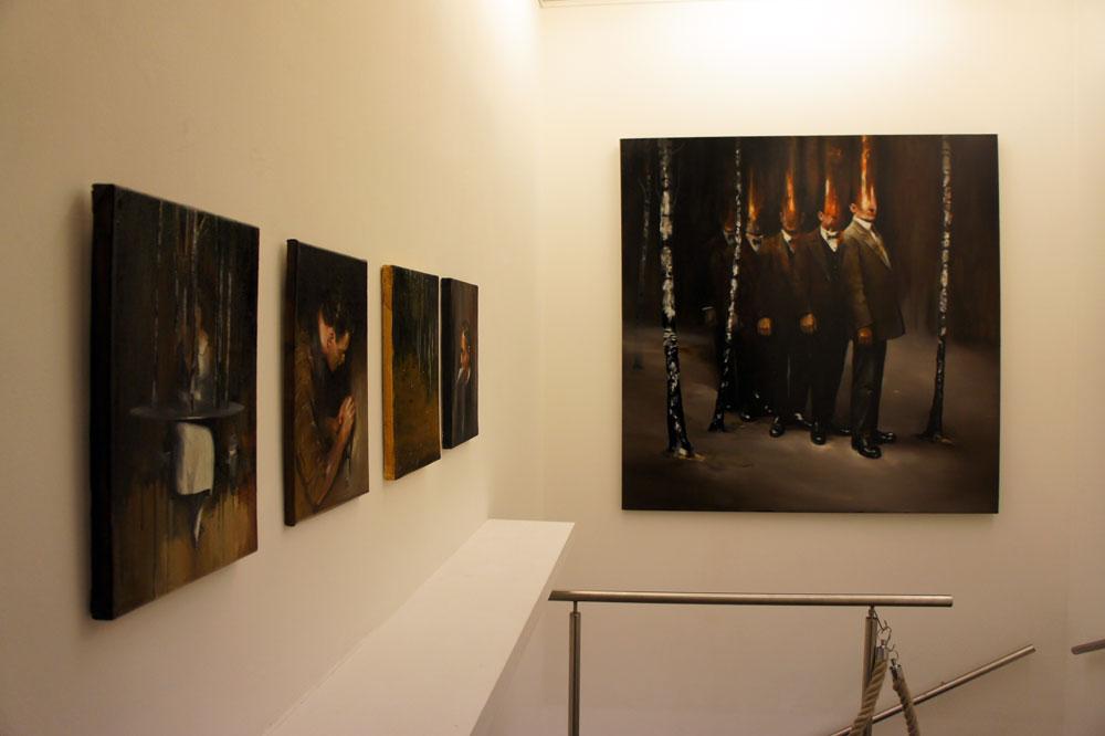 Radu Belcin, Frozen Silence @ Galerie Martin Mertens Berlin (2)