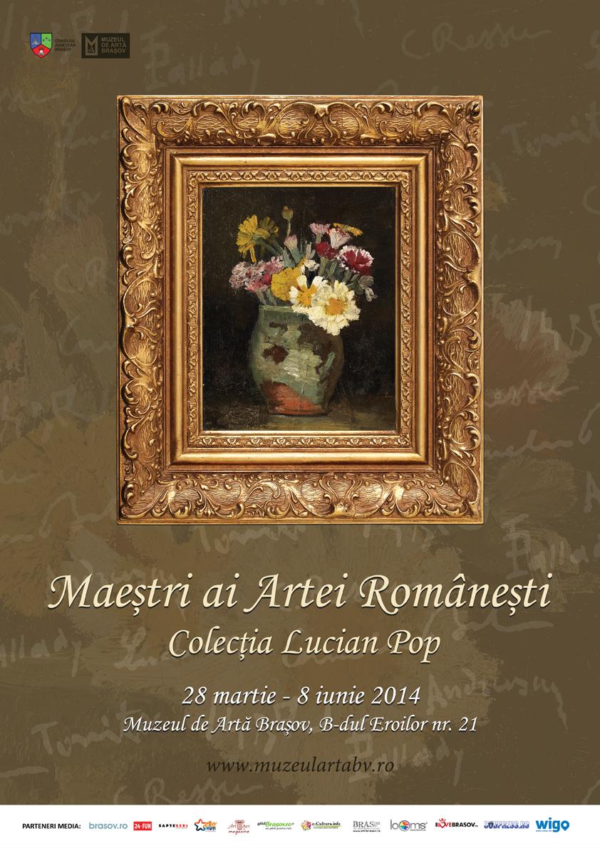 Afis_Maestri ai picturii romanesti.Colectia Lucian Pop