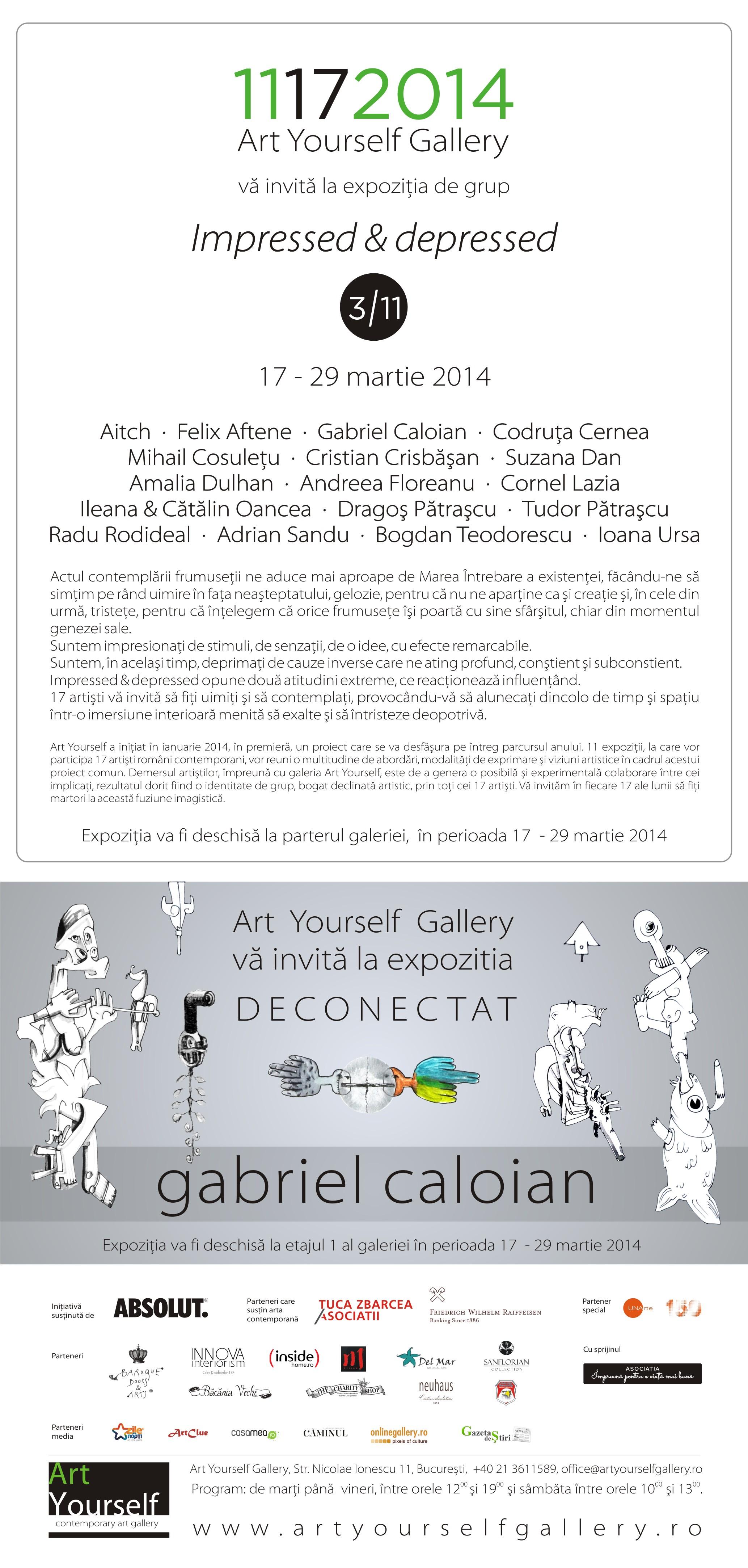 ArtYourself gallery - Impressed & Depressed