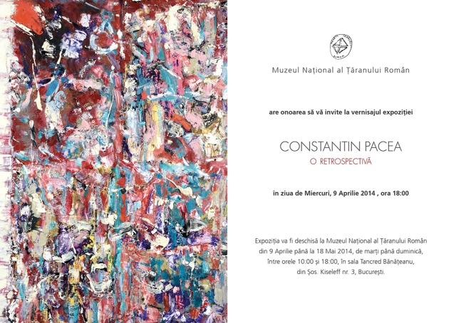 Constantin Pacea - invitatie